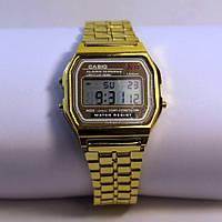 Золотые часы Casio