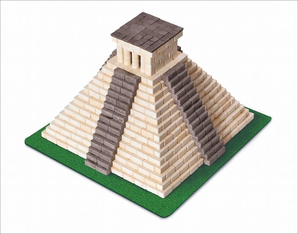 """Конструктор з керамічних цегли ГРАвік """"Піраміда Майя"""" (08003)"""