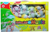 Мобиль на кроватку с мягкими игрушками 5203AD