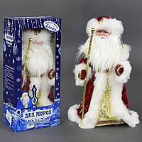 Игрушка Дед Мороз под елку 42 см музыкальный, озвучивание на русском, в коробке. 22302