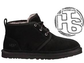 Мужские ботинки реплика UGG Neumel Suede Boots Black 3236