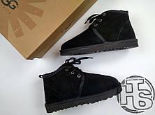 Мужские ботинки UGG Neumel Suede Boots Black 3236, фото 3