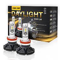 Диодные лампы СВЕТОДИОДНАЯ ЛАМПА CARLAMP LED DAY LIGHT H4 DLH4 ксенон заменитель ксенона дневной  белый  свет
