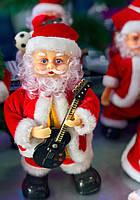 Новогодняя Статуэтка Санта Клаус Музыкальная Игрушка Santa Claus под Елку 30 см
