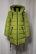 Зимнее женское пальто в расцветках, р.44-52, фото 2