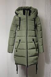 Зимнее женское пальто в расцветках, р.44-52