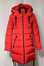 Зимнее женское пальто в расцветках, р.44-52, фото 3