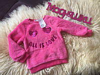 Плюшевый пуловер H&M 2-4, 4-6, 6-8, 8-10 Y