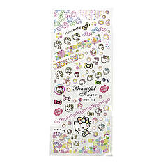 Salon Nails Наклейки водные Hello Kitty - HOT 103