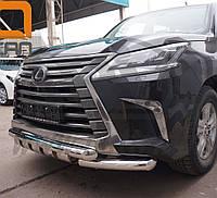 Кенгурятник Shark на Lexus LX 570 (c 2014--) Can Otomotiv d76\76 mm