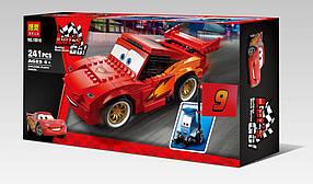 Конструктор Bela 10016 Тачки 2 Молния МакКуин и Гвидо (аналог Lego Cars 2 8484)