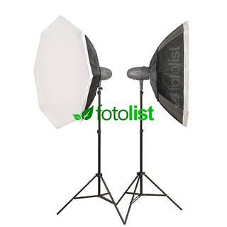 Набор студийного света Visico VL-400 Plus KIT-2 Ø90 см, 2х400 Дж