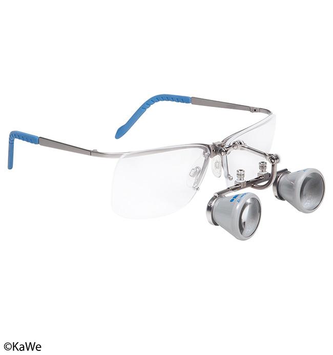 Бинокулярная лупа BS 2,3 с защитными очками