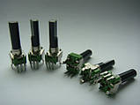Потенциометр ALPHA a50k 23mm для пультов , фото 3