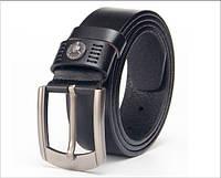 Ремень мужской кожаный Baellerry art 001