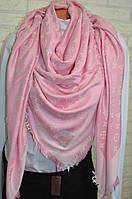 Розовый платок женский Louis Vuitton (Луи Витон)