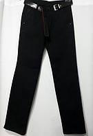 Черные брюки на флисе на мальчика 146 170 Looks