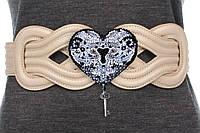 """Набір для вишивання бісером прикраси на натуральному художньому холсті """"Ключ до серця-2"""""""