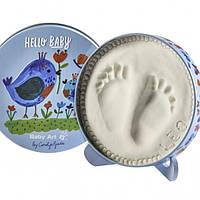 Baby Art - Набор для отпечатков ручек и ножек Мagic Box - Птички