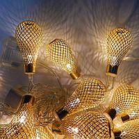 Гирлянда Груша Золото LED 20 (107)