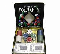Набор для игры в покер на 100 фишек — Техасский холдем