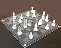 Игра в подарок — Шахматы стеклянные 20 х 20 см