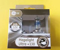 Автолампы 12V GEH4 Megalight Ultra +130%