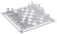 Игра в подарок — Шахматы стеклянные 35 х 35 см