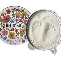Baby Art - Набор для отпечатков ручек и ножек Мagic Box - Цветы