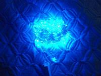 Гирлянда LED светодиодная на 500 ламп синего цвета 19 м