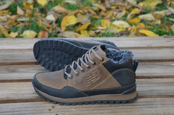 08a6bad8 New Balance мужские зимние кроссовки коричневые США в фирменных коробках -  bonny-style в Днепре