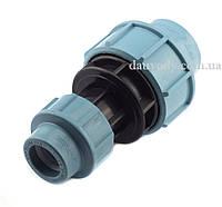 Муфта пнд редукционная 25х20 для полиэтиленовых труб (Santehplast), фото 1