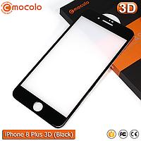 Защитное стекло Mocolo iPhone 8 Plus (Black) 3D