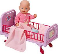 Кроватка больничная для кукол Беби Борн интерактивная Baby Born Zapf Creation 820247