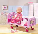 Кроватка для куклы Беби Борн больничная интерактивная Baby Born Zapf Creation 820247, фото 2