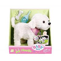 Собачка щенок для кукол Беби Борн Baby Born Пудель интерактивный Zapf Creation 823668