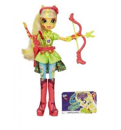 Кукла Эппл Джек Май Литл Пони My little pony Девушки эквестрии Equestria Girls Friendship Games Apple Jack