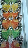 Бабочка для штор перо