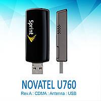 Novatel U760 - компактный 3G модем для Интертелеком с антенным гнездом