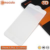 Защитное стекло Mocolo iPhone 8 Plus (White) 3D