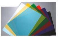 Обложки прозрачные цветные 180 мкм. Формат А4, в упаковке 100 шт.