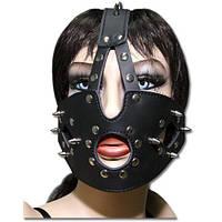 Маска-шлем черная Spade