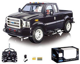 Машина на радиоупралении Ford F-350, свет, звук, динамики для МР3, откр. двери, форд 866-1207