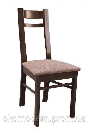 Стул деревянный МОДЕРН+ с мягким сидением  для кухни, кафе, ресторана