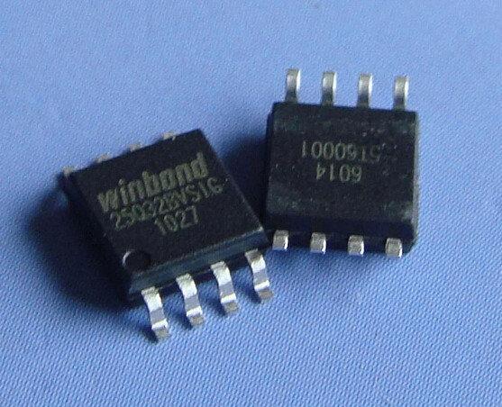 W25Q32BVSSIG (25Q32BVSIG), Флэш-память, SPI, 32МБит SOP8