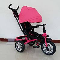 Велосипед трехколесный Turbo Trike M 3646A-S11 поворотное сидение, надувные колеса