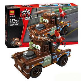 Конструктор Bela 10015 Тачки 2 Мэтр: крутой тюнинг (аналог Lego Cars 2 8677)