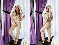 Женский домашний махровый костюм с ушками 311916