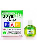 Капли для глаз витаминизированные Lion Smile 40 EX Mild с индексом свежести 2