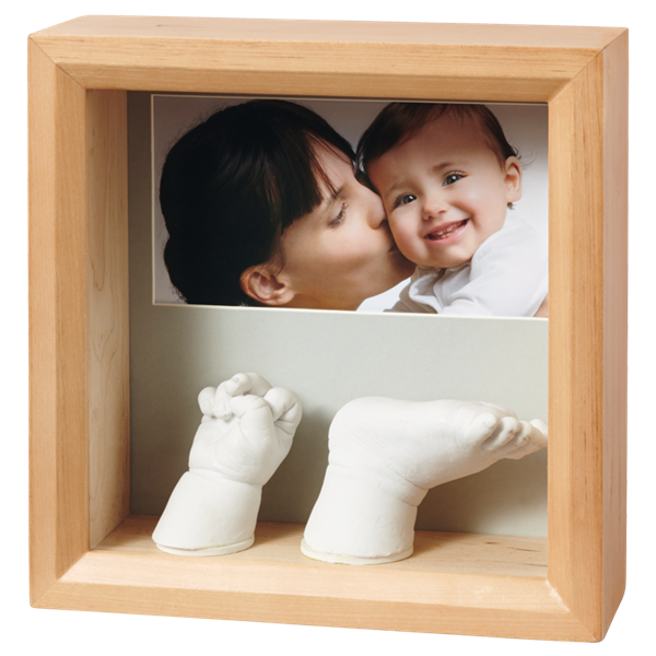 Рамочка Baby Art Sculpture Rounded Frame - natural